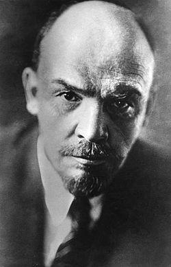 Vladimiras Iljičius Leninas - Rusijos revoliucionierius, Bolševikų partijos lyderis, Tarybų Sąjungos įkūrėjas ir pirmasis Tarybų Sąjungos premjeras, taip pat leninizmo ideologijos pradininkas.
