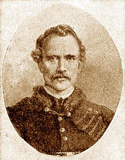 Zigmantas Sierakauskas - vienas 1863 m. sukilimo vadų, vėliau pakartas Vilniuje.