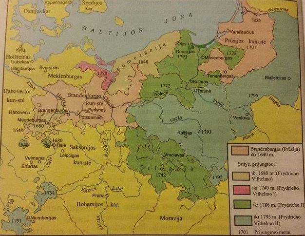 Brandenburgo-Prūsijos valstybės plėtimasis