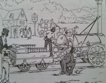 Dž. Stefensono garvežys Raketa 1829m