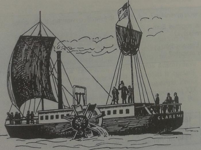 R. Fultono garlaivis Clermont