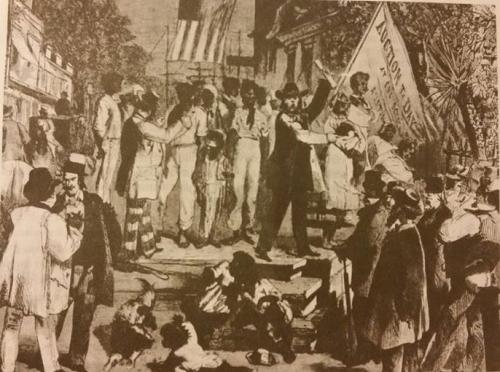 Vergų prekyba Ričmonde, Virdžinijoje