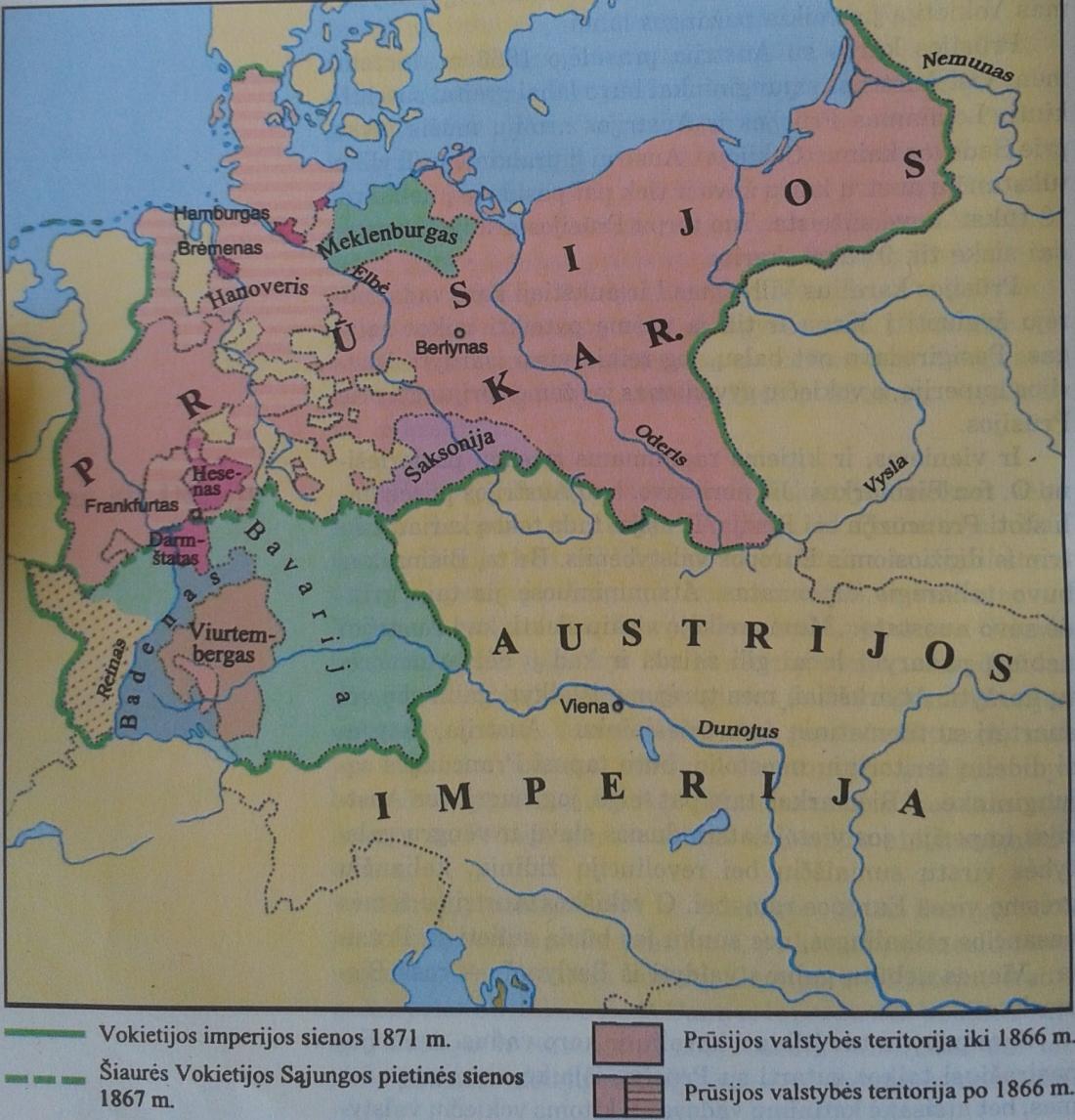 Vokietijos valstybės susikūrimas