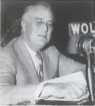 F. Ruzveltas per radiją kreipiasi į tautą