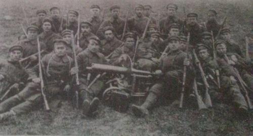 Lietuviai kariai fronte prieš lenkus 1920 m. rudeni