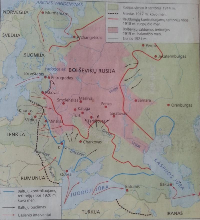 Rusija 1917-1921 m