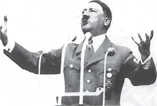 Fiureris trenkia kalba. As zinau, kad kiekvienas didis sąjudis šioje žemėje kilo didžiųjų ortarotių dėka A. Hitleris. Mano kovaaa