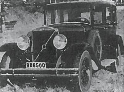 Šešių cilindų Volvo automobilis, gamintas 1929-1934 m.