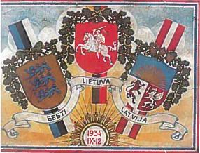 Jomanto plakatas. 1934 m.