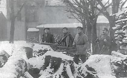 Klaipėdos sukilimo dalyviai. Klaipėda, 1923 m.