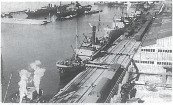 Klaipėdos uostas. 4-asis dešimtmetis