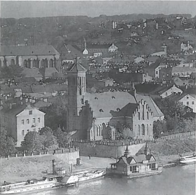 Laikinosios sostinės panorama nuo Aleksoto. Nepriklausomybės metais Kaunas iš provincijos miesto tapo moderniu didmiesčių.