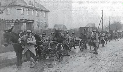 Prancūzų kariai Klaipėdoje. 1923 m.