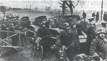 Lietuvos kariuomenė žygiuoja į Vilnių. 1939 m. spalio mėn.