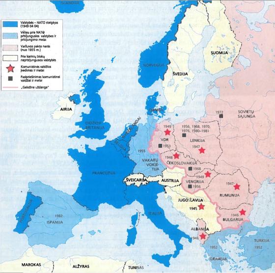 Europa šaltojo karo metais