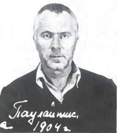 """R. Paulaitis (1904-1986). Totalinis komunistų partijos vadovaujamas režimas persekiodamas ir žudydamas savo valiai pajungė milijonus žmonių. Mokytojas, antinacinio pasipriešinimo dalyvis, antisovietinių partizanų vadas Petras Paulaitis buvo iš tų, kurie nepalūžo. """"Atpildas """" už tai - 34 mėtai sovietiniuose kalėjimuose ir lageriuose"""