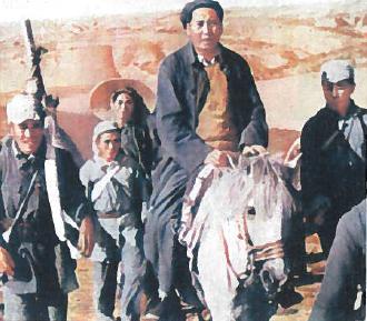 Mao Czedunas (1893-1976) ir jo bendražygiai 1947 m.