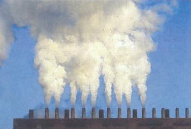 Pramonės gamybos plėtra - ir gerovė, ir ekologinės problemos. Azbesto gamykla