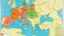 Napoleonas 1810 m. zemelapis