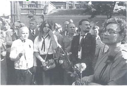 1987 m. rugpjūčio 23 d. demonstracija Vilniuje, prie Adomo Mickevičiaus paminklo