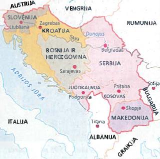 Jugoslavijos suirimas