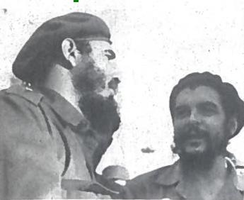 Legendiniai Lotynų Amerikos revoliucionieriai - F. Kastro ir E. Če Gevara