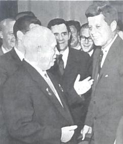 N. Chruščiovas ir Dž. Kenedis