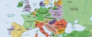 Europa po pirmojo pasaulinio karo – žemėlapis