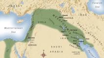 Mesopotamijos žemėlapis