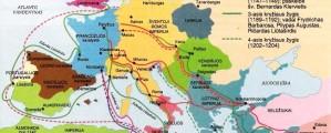Kryžiaus žygiu žemėlapis