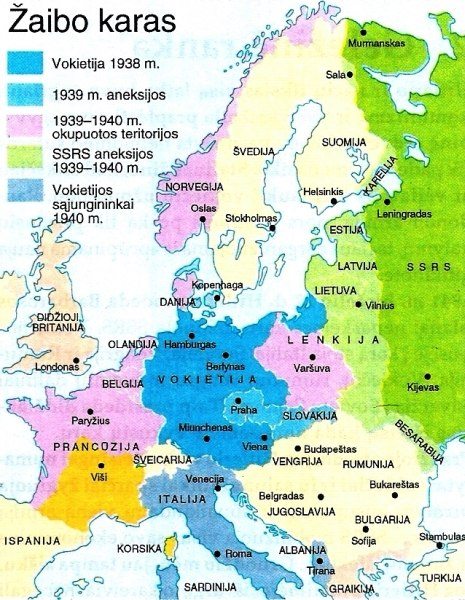 Žaibo karas 1939-1940 m.