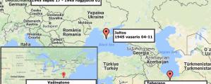 Antrojo pasaulinio karo konferencijų žemėlapis (2017)