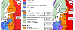 Molotovo-Ribentropo pakto žemėlapis