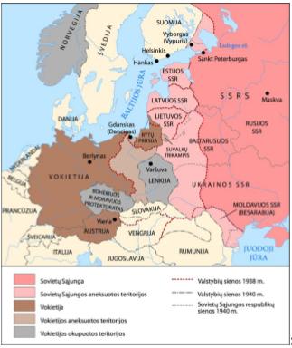 Antrojo pasaulinio karo konspektas