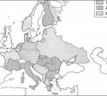 2011 metų valstybinio brandos egzamino Antrojo pasaulinio karo žemėlapis (šaltinių dalis)