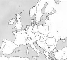 2013 bandomajo Šaltojo karo žemėlapis (šaltinių dalis)