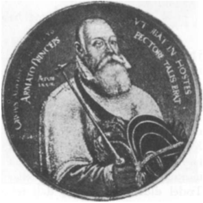 Albrechtas Hohencolernas, paskutinis kryžiuočių magistras ir pirmasis Prūsijos kunigaikštis († 1568 m.)