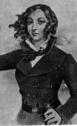 Emilija Pliaterytė, herojiška sukilėlių vadė, gavusi kapitono laipsnį († 1831 m.).