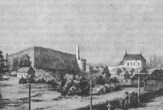 Lydos pilies griuvėsiai
