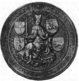 Zigmanto Kęstutaičio antspaudas, prisegtas prie 1436 metų dokumento.