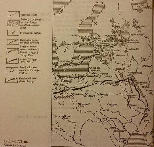 1700-1721 m. Šiaurės karas