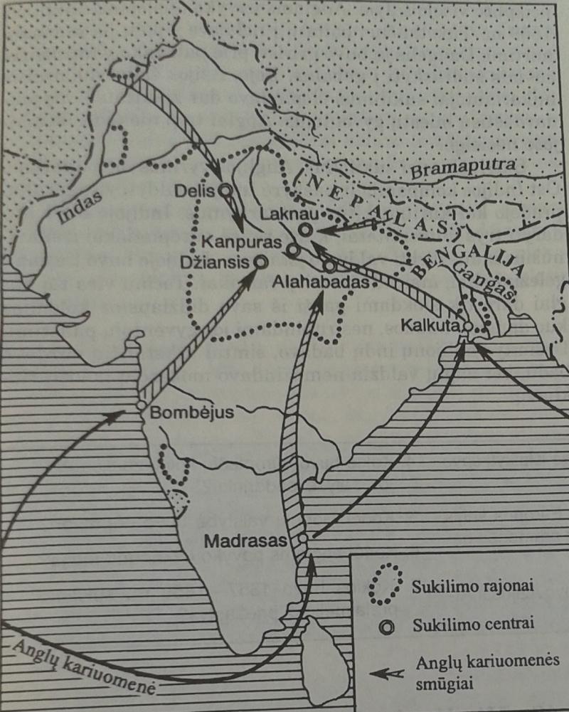 Indijos sukilimas
