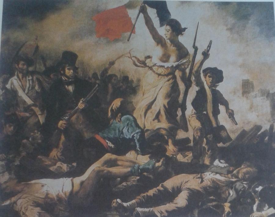 Laisvė, vedanti liaudį į barikadas