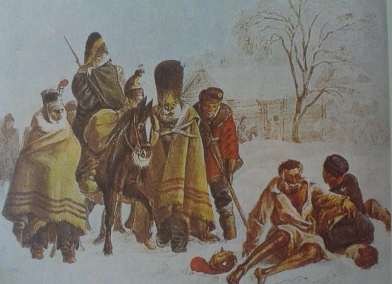 Napoleono I kariuomenės likučiai