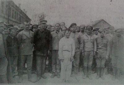 Bolševikai patekę į lietuvių nelaisvę 1919-1920 m