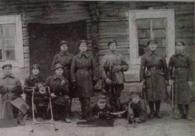 Lietuvos savanoriai Širvintų apylinkėse
