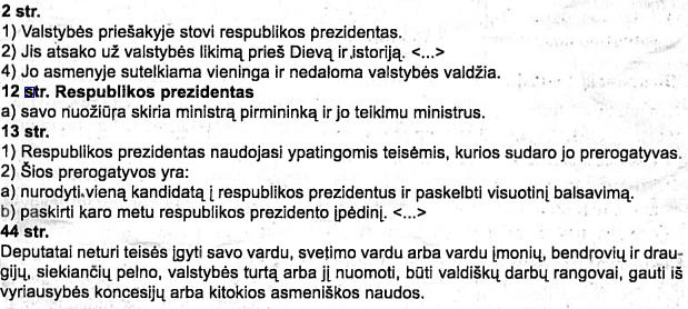 Lenkijos konstitucijos ištrauka