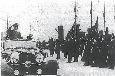 Adolfo Hitlerio sutikimas Klaipėdos uoste