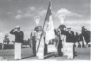 Tautinės olimpiados atidarymas. Kaunas, 1938 m.