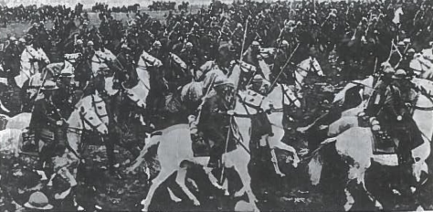 Lenkijos armijos pasididžiavimas - kavalerija. Šie daliniai buvo bejėgiai prieš vokiečių tankus.